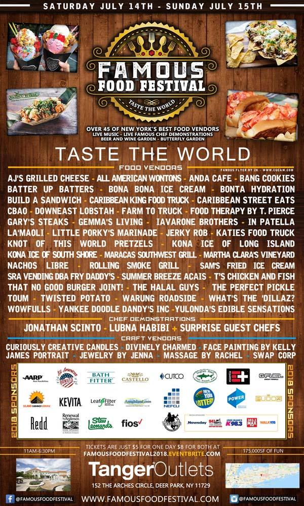 Deer Park Food Festival