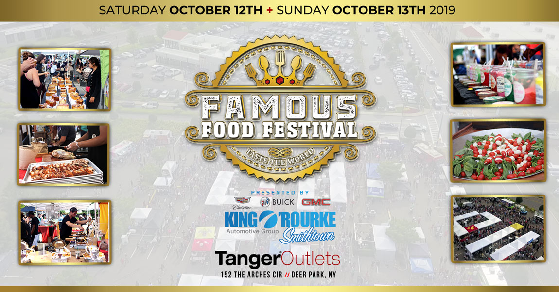 famous food festival oct 2019