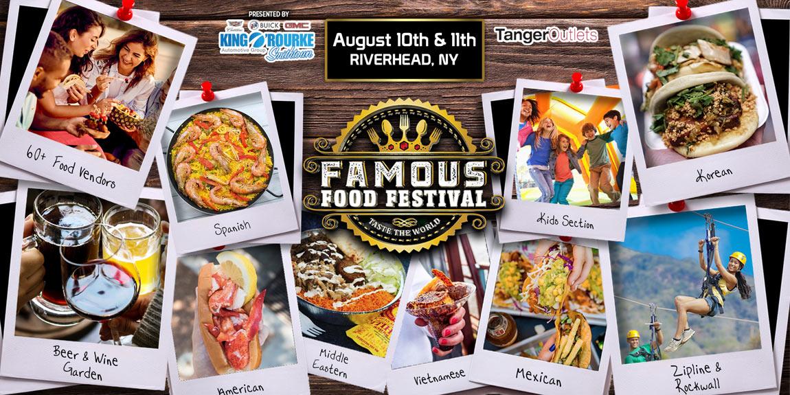 famous food festival aug